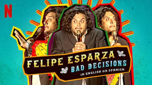 Felipe Esparza: Bad Decisions